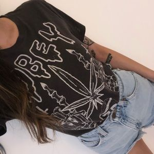 Urban Outfitters Obey skull vintage tee